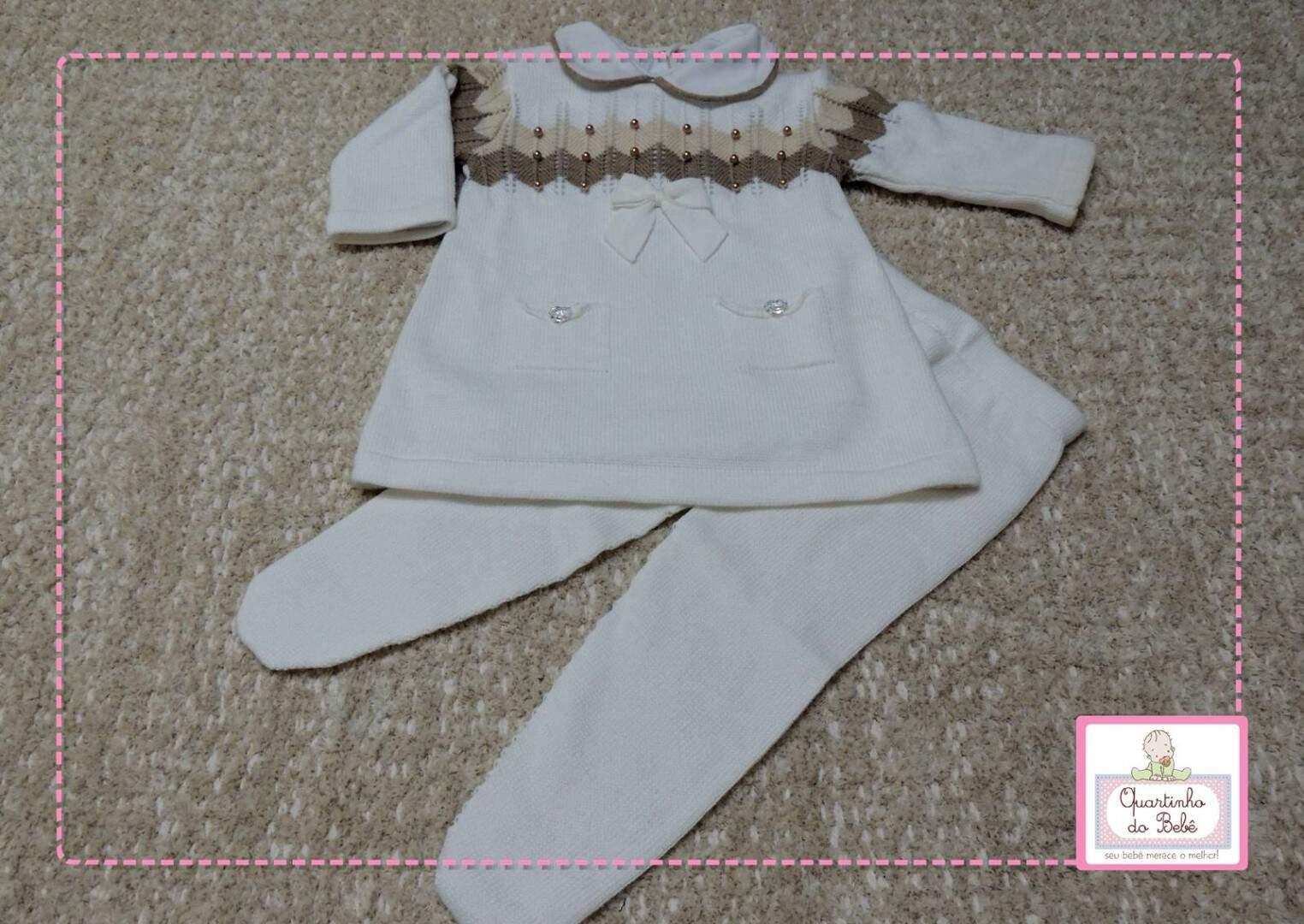 bef651710a Conjunto Saída Maternidade Vestido c  Bolso 3032 c  Body Vivo Petit Mouton  103481